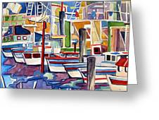 San Fransico Marina Greeting Card