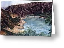 San  Gabriel Reservoir Greeting Card
