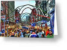 San Gennaro Festival Greeting Card