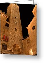 San Gimignano Greeting Card