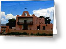 San Ildefonso Pueblo Greeting Card
