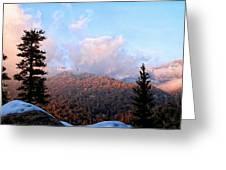 San Jacinto Mountains - California Greeting Card by Glenn McCarthy Art and Photography