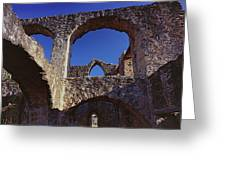 San Jose Arches A Greeting Card