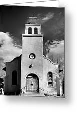 San Jose, Cerrillos, New Mexico, March 11, 2017 Greeting Card