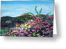 San Jose Church Matagalpa Greeting Card