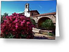 San Juan Capistrano Mission Greeting Card