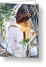 San Juan Capistrano Under The Archway Greeting Card