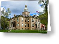 San Juan County Courthouse Greeting Card