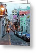 San Juan Evening Glow Greeting Card