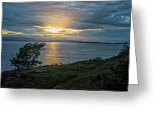 San Juan Island Sunset Greeting Card