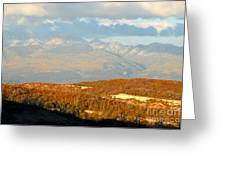 San Juan Mountains Greeting Card