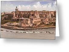 San Juan Puerto Rico Fort  Greeting Card