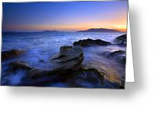 San Juan Sunset Greeting Card