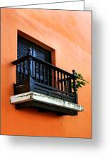 San Juan Window Greeting Card