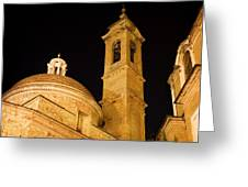 San Lorenzo Chruch Florence Italy Greeting Card