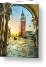 San Marco - Venice - Italy  Greeting Card