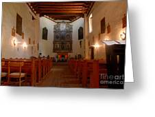 San Miguel Mission Church Greeting Card