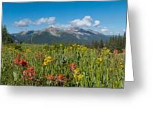 San Miguel Mountains Greeting Card