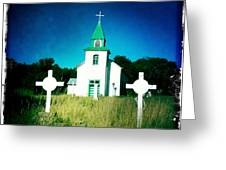 San Patricio Church IIi Greeting Card