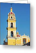 San Pedro Church Tower Greeting Card