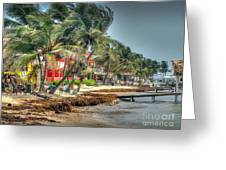 San Pedro Windy Day Greeting Card
