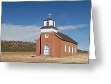 San Rafael Church Greeting Card
