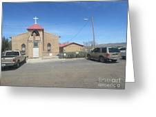 San Rafael Church Greeting Card