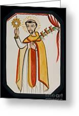 San Ramon Nonato - St. Raymond Nonnatus - Aoran Greeting Card