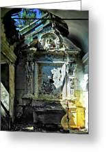 San Rocco Chapel Ruins - Cappella San Rocco Rovine Greeting Card