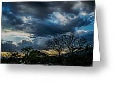 San Salvador Sunset 5 Greeting Card