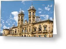 City Hall - San Sebastian - Spain Greeting Card