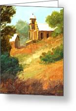 Sanctuary At Lamy New Mexico Greeting Card