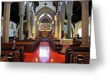 Sanctuary Christ Church Cathedral 1 Greeting Card