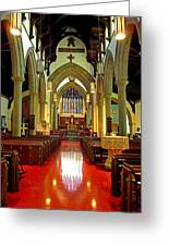 Sanctuary Christ Church Cathedral 2 Greeting Card
