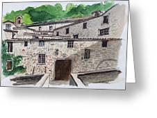 Sanctuary Of St. Francis Greeting Card