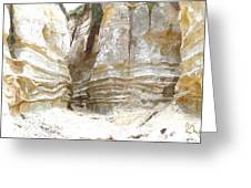 Sand Canyon Of San Clemente Greeting Card