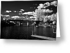 Sand Creek In Infrared Greeting Card