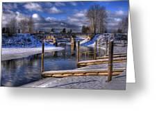 Sand Creek Winter Greeting Card