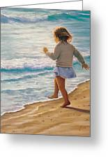 Sand Dancer Greeting Card
