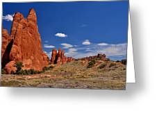 Sand Dune Arch 4 Greeting Card