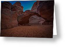 Sand Dune Arch Greeting Card