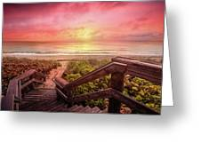 Sand Dune Morning Greeting Card