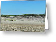 Sand Dune Panorama  Greeting Card