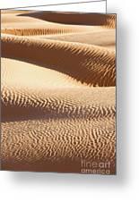 Sand Dunes 2 Greeting Card