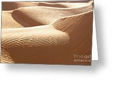 Sand Dunes 3 Greeting Card