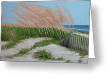Sand Dunes  No 2 Greeting Card