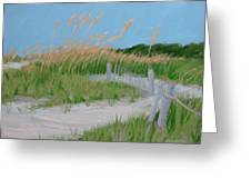 Sand Dunes No. 3 Greeting Card