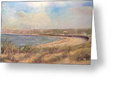 Sand Dunes, St. Ouens Bay Greeting Card