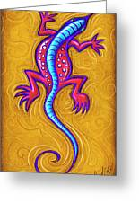 Sand Lizard Greeting Card