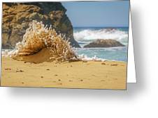 Sand Monster Greeting Card